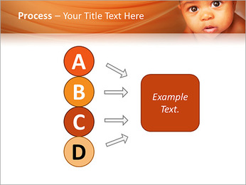 Afro American Baby PowerPoint Templates - Slide 74
