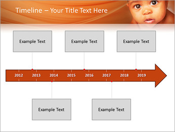 Afro American Baby PowerPoint Templates - Slide 8