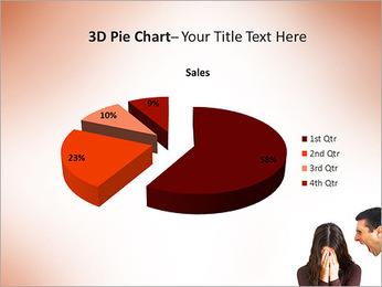 Quarreling Couple PowerPoint Templates - Slide 15