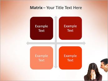 Quarreling Couple PowerPoint Templates - Slide 17