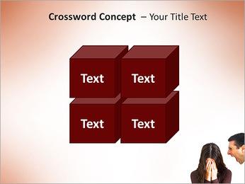 Quarreling Couple PowerPoint Templates - Slide 19