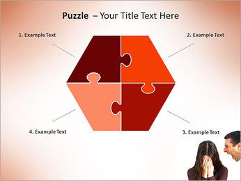 Quarreling Couple PowerPoint Templates - Slide 20