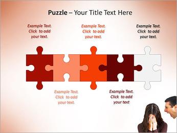Quarreling Couple PowerPoint Templates - Slide 21