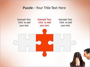 Quarreling Couple PowerPoint Templates - Slide 22