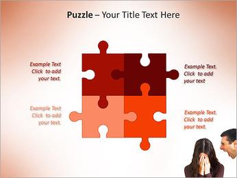 Quarreling Couple PowerPoint Templates - Slide 23