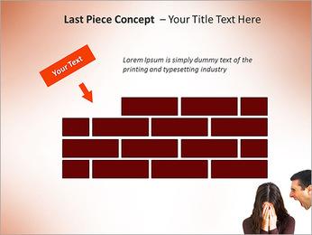 Quarreling Couple PowerPoint Templates - Slide 26