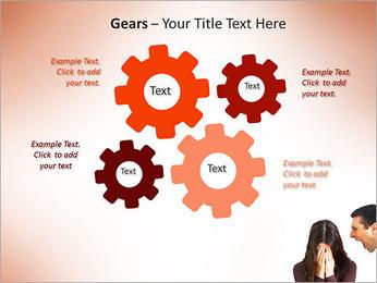 Quarreling Couple PowerPoint Templates - Slide 27