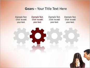 Quarreling Couple PowerPoint Templates - Slide 28