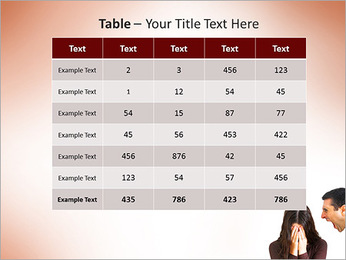 Quarreling Couple PowerPoint Templates - Slide 35