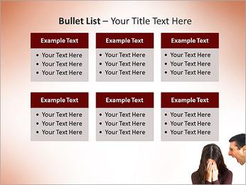 Quarreling Couple PowerPoint Templates - Slide 36