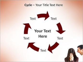 Quarreling Couple PowerPoint Templates - Slide 42