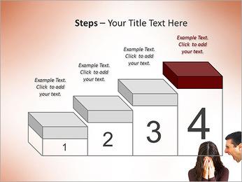 Quarreling Couple PowerPoint Templates - Slide 44