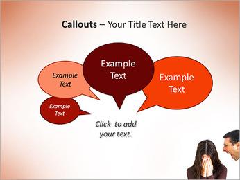 Quarreling Couple PowerPoint Templates - Slide 53