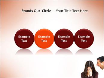Quarreling Couple PowerPoint Templates - Slide 56