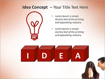 Quarreling Couple PowerPoint Templates - Slide 60