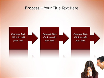 Quarreling Couple PowerPoint Templates - Slide 68