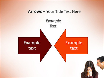 Quarreling Couple PowerPoint Templates - Slide 70