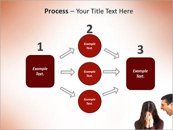 Quarreling Couple PowerPoint Templates - Slide 72