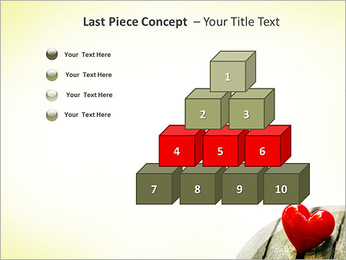 Red Heart PowerPoint Template - Slide 11