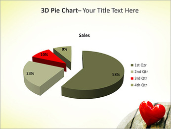 Red Heart PowerPoint Template - Slide 16