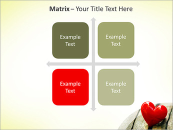 Red Heart PowerPoint Template - Slide 17