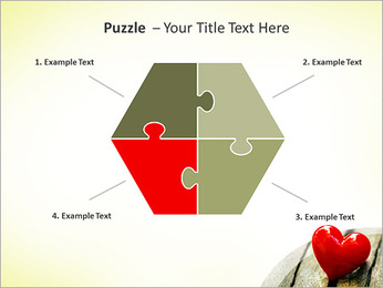 Red Heart PowerPoint Template - Slide 20