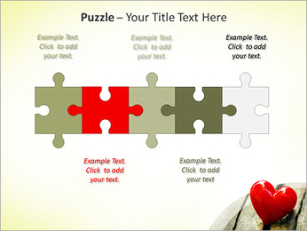 Red Heart PowerPoint Template - Slide 21