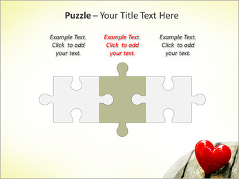 Red Heart PowerPoint Template - Slide 22