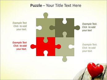 Red Heart PowerPoint Template - Slide 23