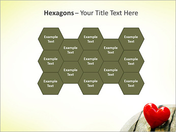Red Heart PowerPoint Template - Slide 24