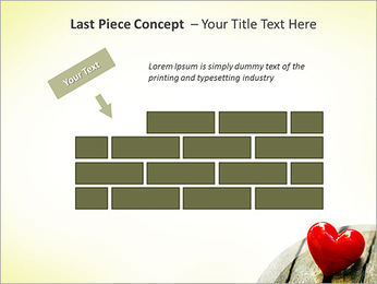 Red Heart PowerPoint Template - Slide 26