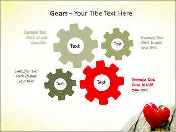Red Heart PowerPoint Template - Slide 27