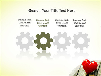 Red Heart PowerPoint Template - Slide 28
