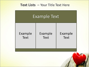 Red Heart PowerPoint Template - Slide 39