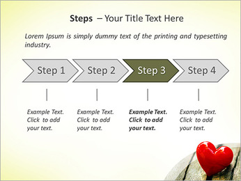 Red Heart PowerPoint Templates - Slide 4