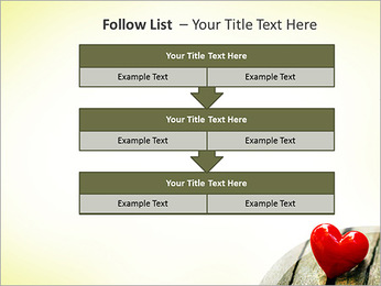 Red Heart PowerPoint Template - Slide 40