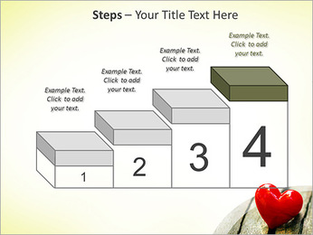 Red Heart PowerPoint Template - Slide 44