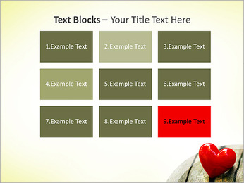 Red Heart PowerPoint Template - Slide 48