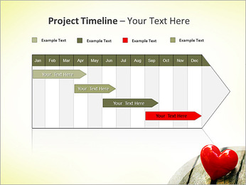 Red Heart PowerPoint Templates - Slide 5