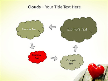 Red Heart PowerPoint Template - Slide 52
