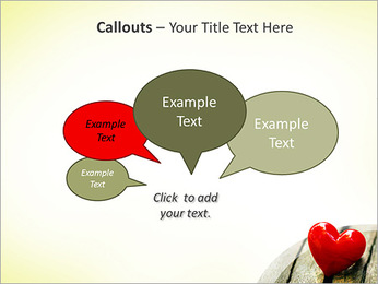 Red Heart PowerPoint Template - Slide 53
