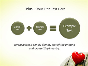 Red Heart PowerPoint Template - Slide 55