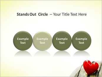 Red Heart PowerPoint Template - Slide 56