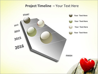Red Heart PowerPoint Templates - Slide 6
