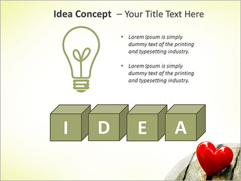 Red Heart PowerPoint Template - Slide 60