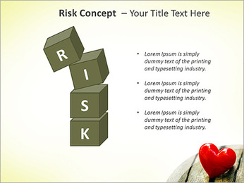 Red Heart PowerPoint Template - Slide 61