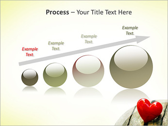 Red Heart PowerPoint Template - Slide 67