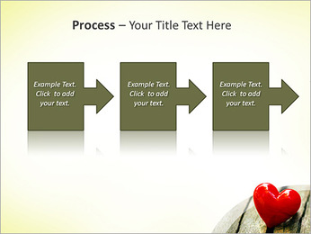 Red Heart PowerPoint Template - Slide 68