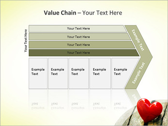 Red Heart PowerPoint Template - Slide 7