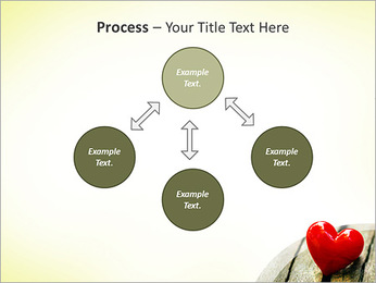 Red Heart PowerPoint Template - Slide 71